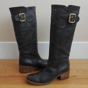 $1395~CHLOE~Prince Paddington Knee High Boot~7.5/8